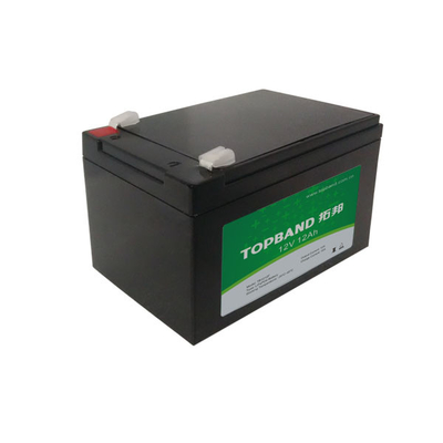 Durable Lithium Iron Phosphate Battery 12V 12ah With Patent Wireless Monitoring Function