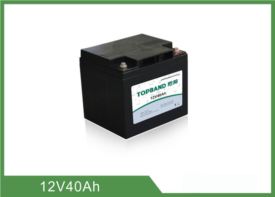 40Ah Capacity Rechargeable Lithium Ion Battery Deep Cycle TB1240F-S110C