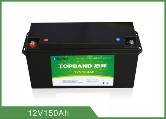 High Capacity Smart Lithium Battery , Deep Cycle 12v 150Ah Battery Bluetooth