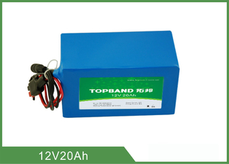 Industrial Deep Cycle Lithium Battery 20Ah , Lifepo4 12v Battery OEM Available