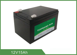 12V 15Ah Deep Cycle Lithium Battery For Marine 2 Years Warranty