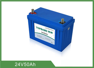 CE Certified Medical Equipment Batteries 24V 50Ah No Memory Effect